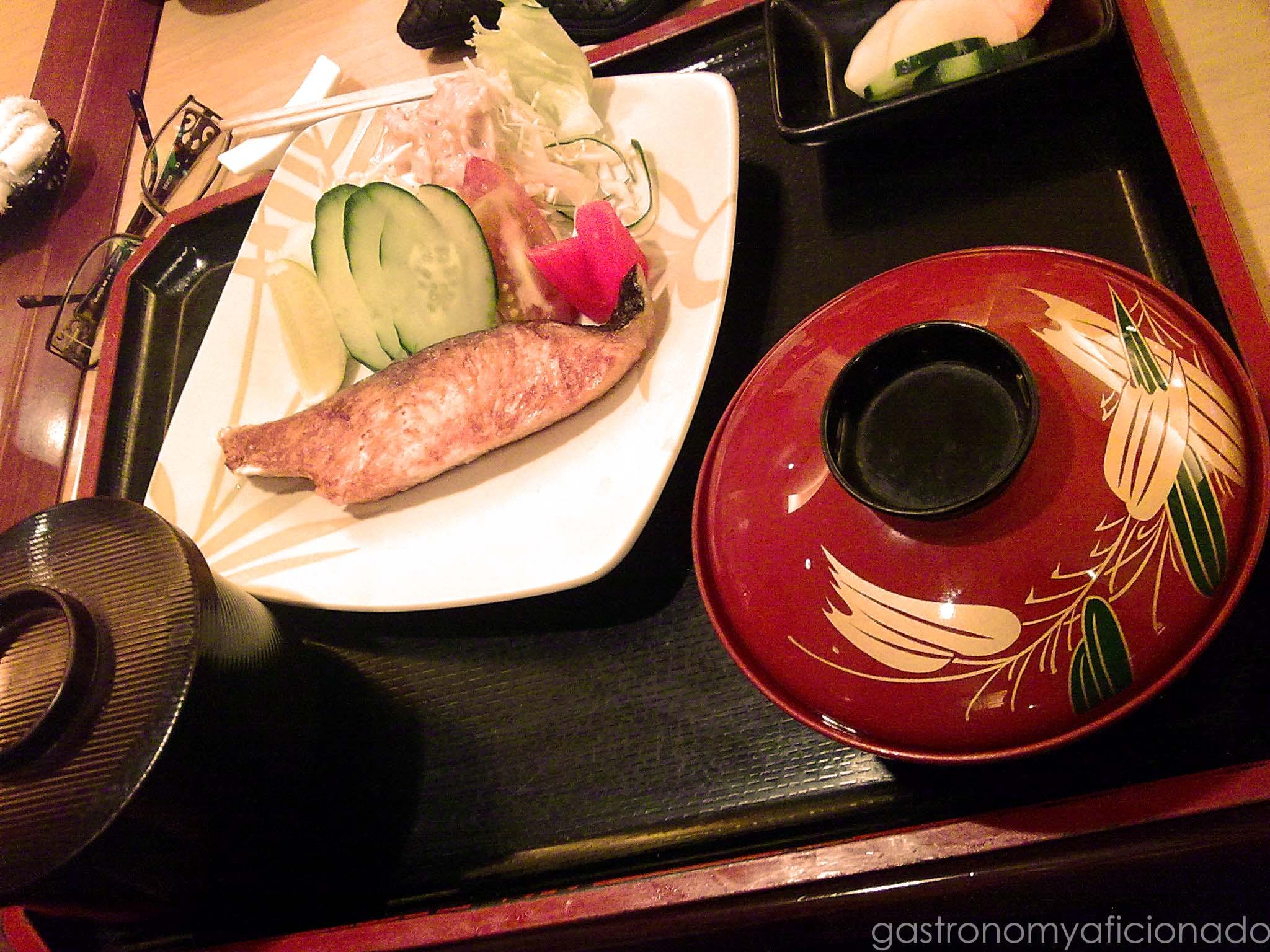 Salmon Shioyaki Set