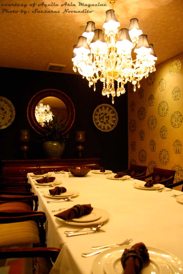 Dining room or there
