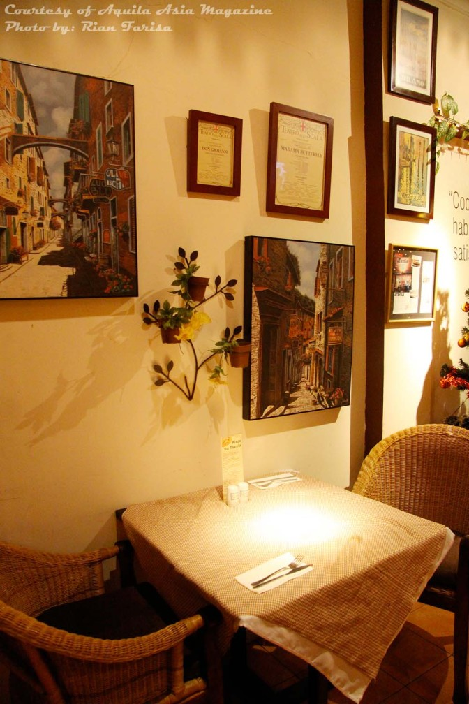 Restaurant Review: A Tavola (Aquila Asia, Mar-Apr 2011)