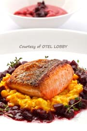 Otel Lobby - Pan Roasted Salmon