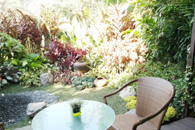 Sheraton Bandung Hotel & Towers - The secret garden