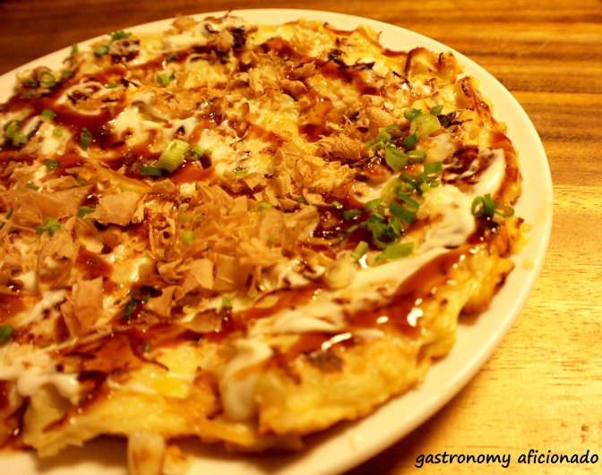 Ryoshi - Seafood Okonomiyaki