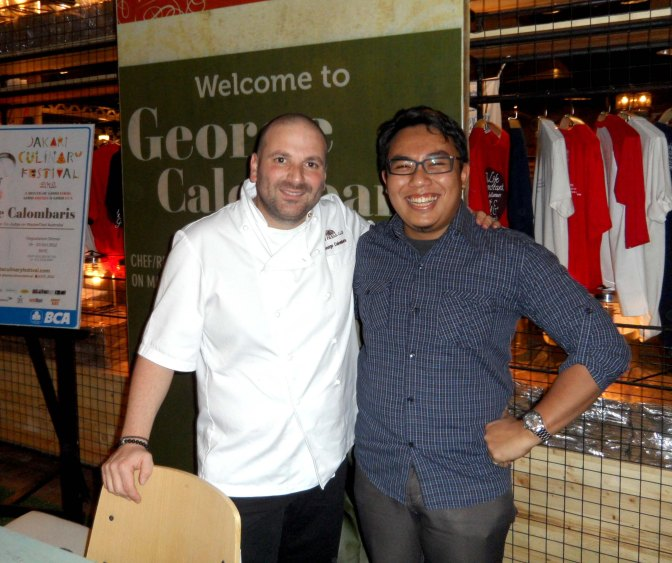 Meet George Calombaris (Farrago Indonesia – November 24, 2012)