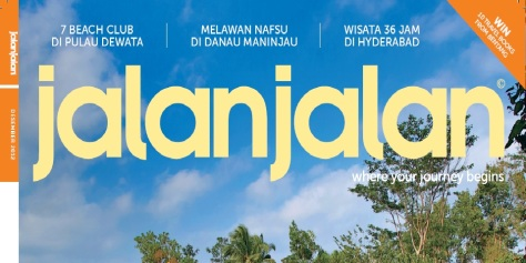 Featured in Jalan Jalan Magazine 2012 (cover)