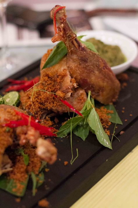 Bebek Goreng Tiga Sambal (Photo courtesy of Wanderbites)
