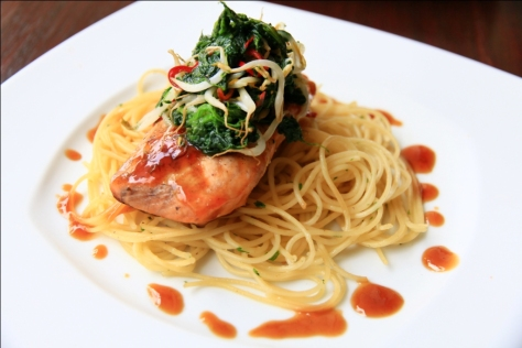 Pastis - Grilled Salmon
