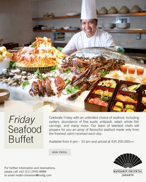MOHJ - Friday Seafood Buffet