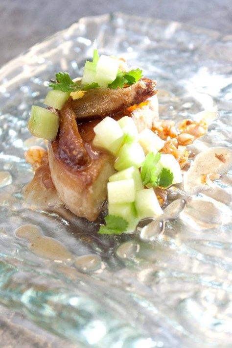 Seared foie gras, Moroccan style