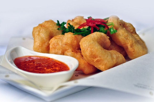 Bacchus - Beer-battered Prawns