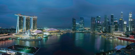 Marina Bay Sands - Overview (Credit for Timothy Hursley)