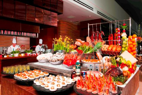 MBS - Rise Restaurant Buffet Spread