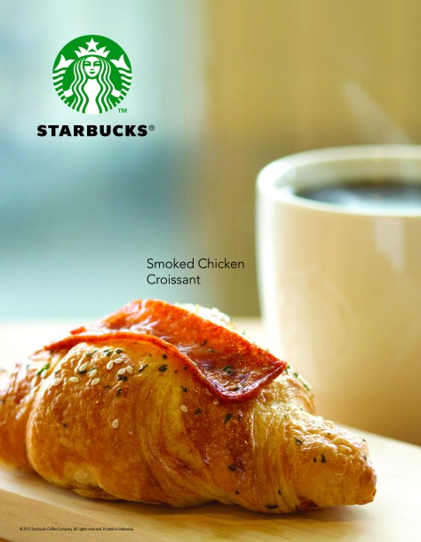 Smoked Chicken Croissant