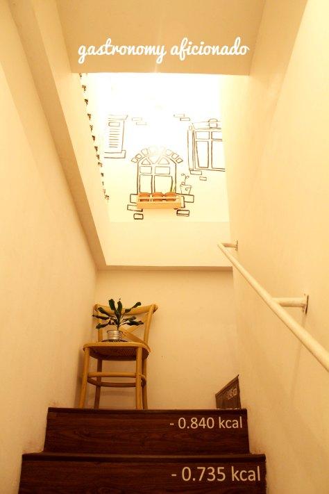 Mangia - Stairs