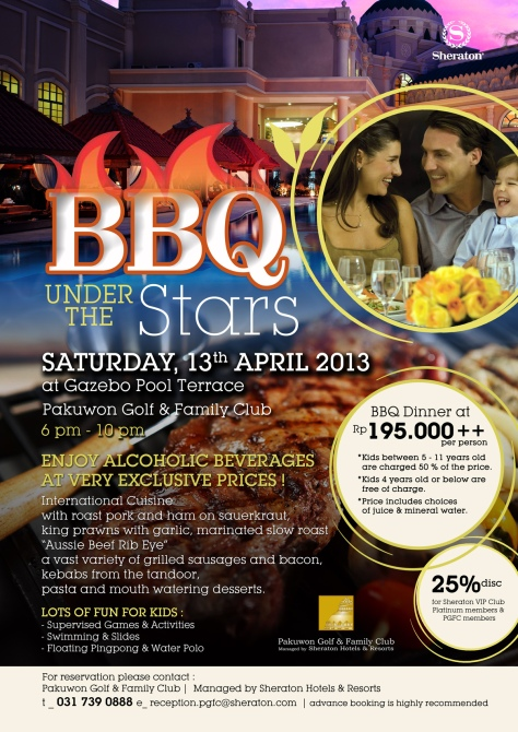 Sheraton Surabaya - BBQ Under The Stars