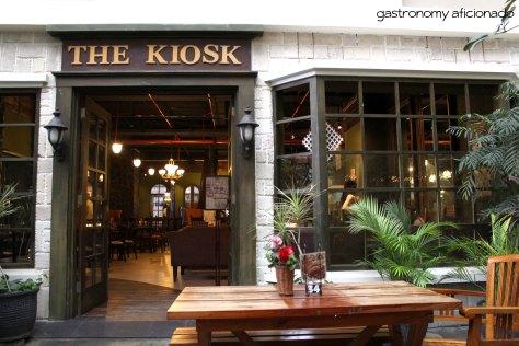 The Kiosk - Facade