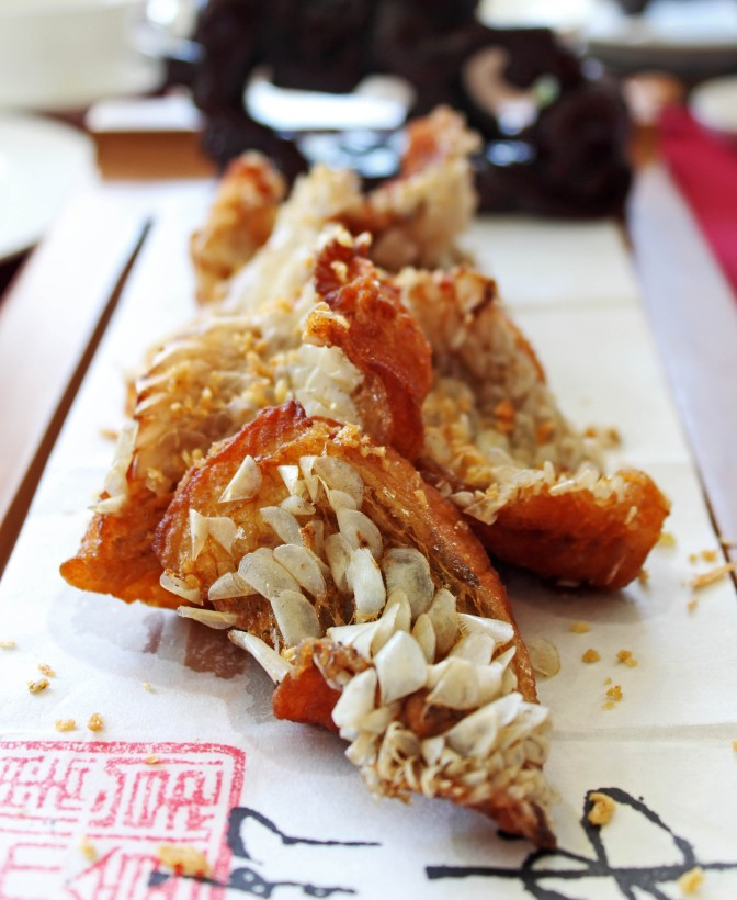 Kong's Family Cuisine - The Kirin Imperial Book - Deep-fried snapper