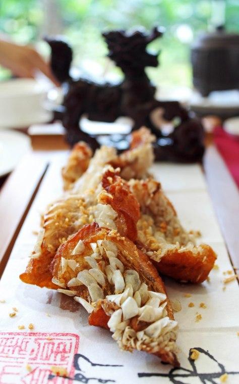 Kong's Family Cuisine - The Kirin Imperial Book - Deep-fried snapper