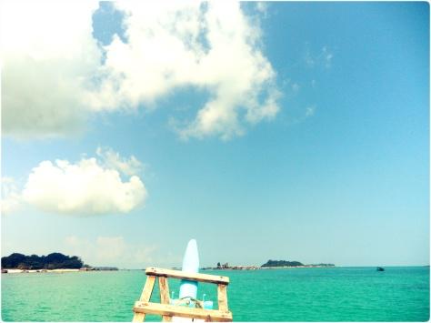 Tanjung Kelayang - On The Boat 1