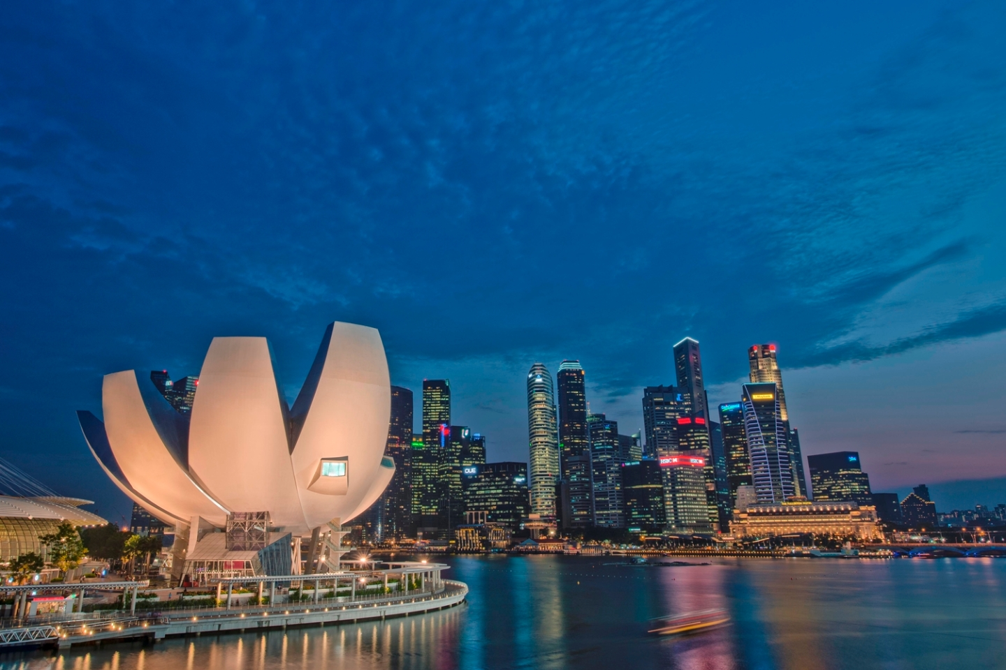 ArtScience Museum Panoramic (Credit to MBS)