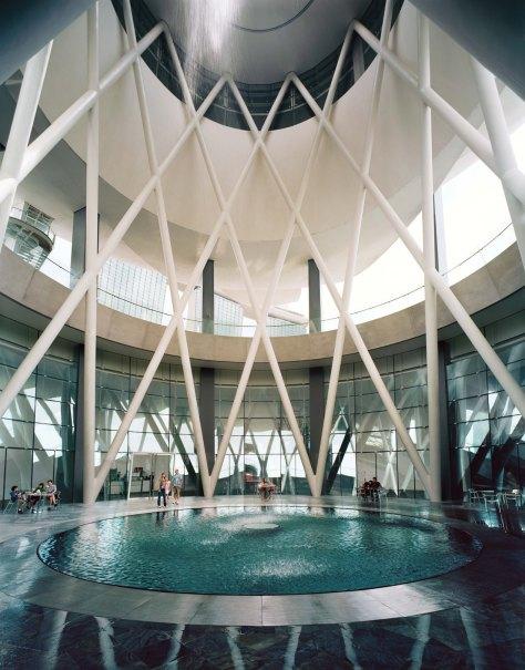 ArtScience Museum - Rain Oculus (Credit to MBS)