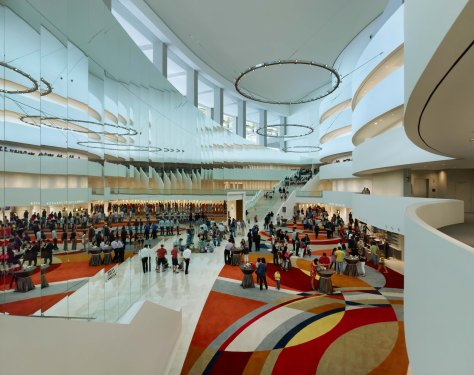 Marina Bay Sands Theater Lobby (Credit to MBS)