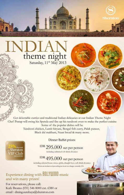 Sheraton Surabaya - Indian Theme Night