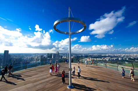 SkyPark Public Observation Deck (Credit to MBS)