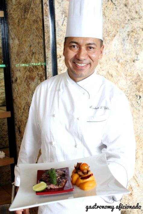 Chef Lamberto Valdez