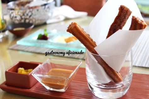 Churros from Bengawan, Keraton at The Plaza - Jakarta