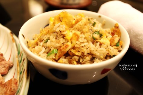 Teppanyaki Combo Lunch Set - Garlic Fried Rice
