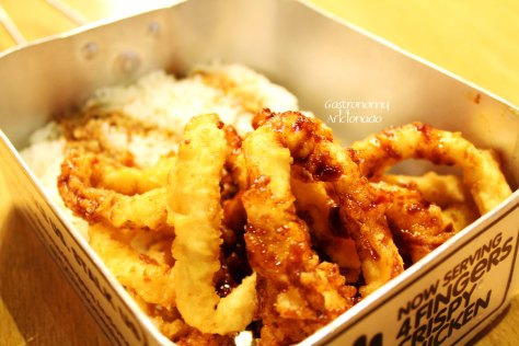 Calamari & Rice