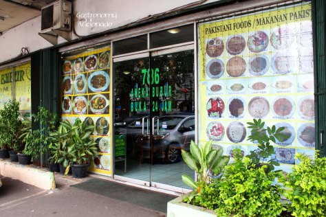 Aneka Bubur - Entrance