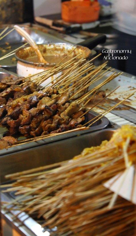 Sate Ayam Sinar Jaya - Satays