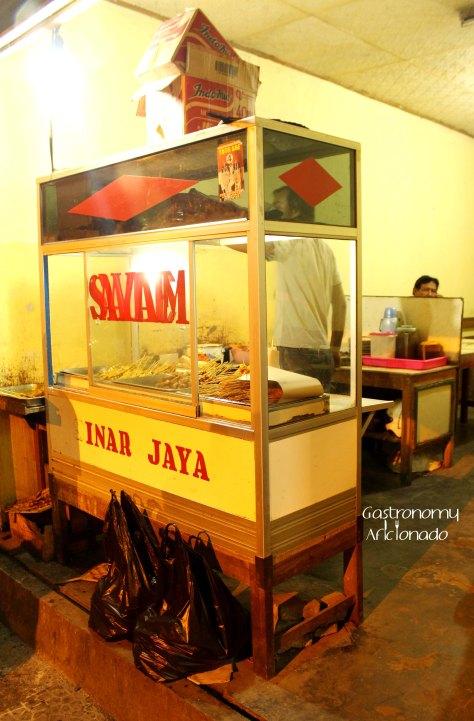 Sate Ayam Sinar Jaya - The stall
