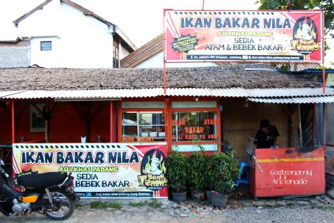 Ikan Bakar Bang Themmy - Facade
