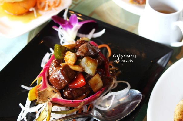 Tien Chao - Australian Beef with Dragon Fruit