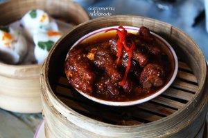 Black Pepper Chicken Feet