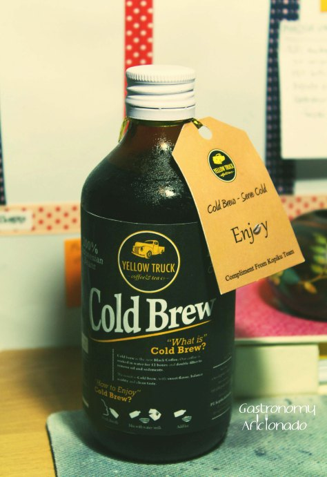 Yellow Truck - Cold Brew Coffee