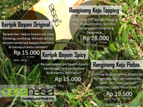 Desanesia - Price List