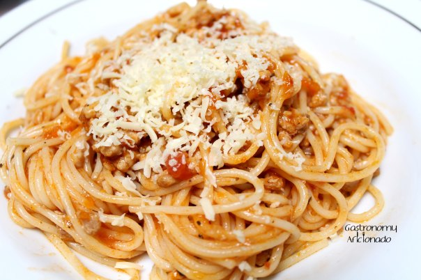 Bolognese with Chicken
