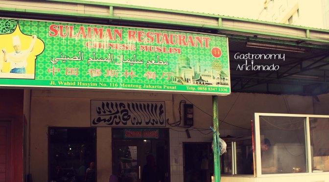 Quikskoop™: Sulaiman Restaurant
