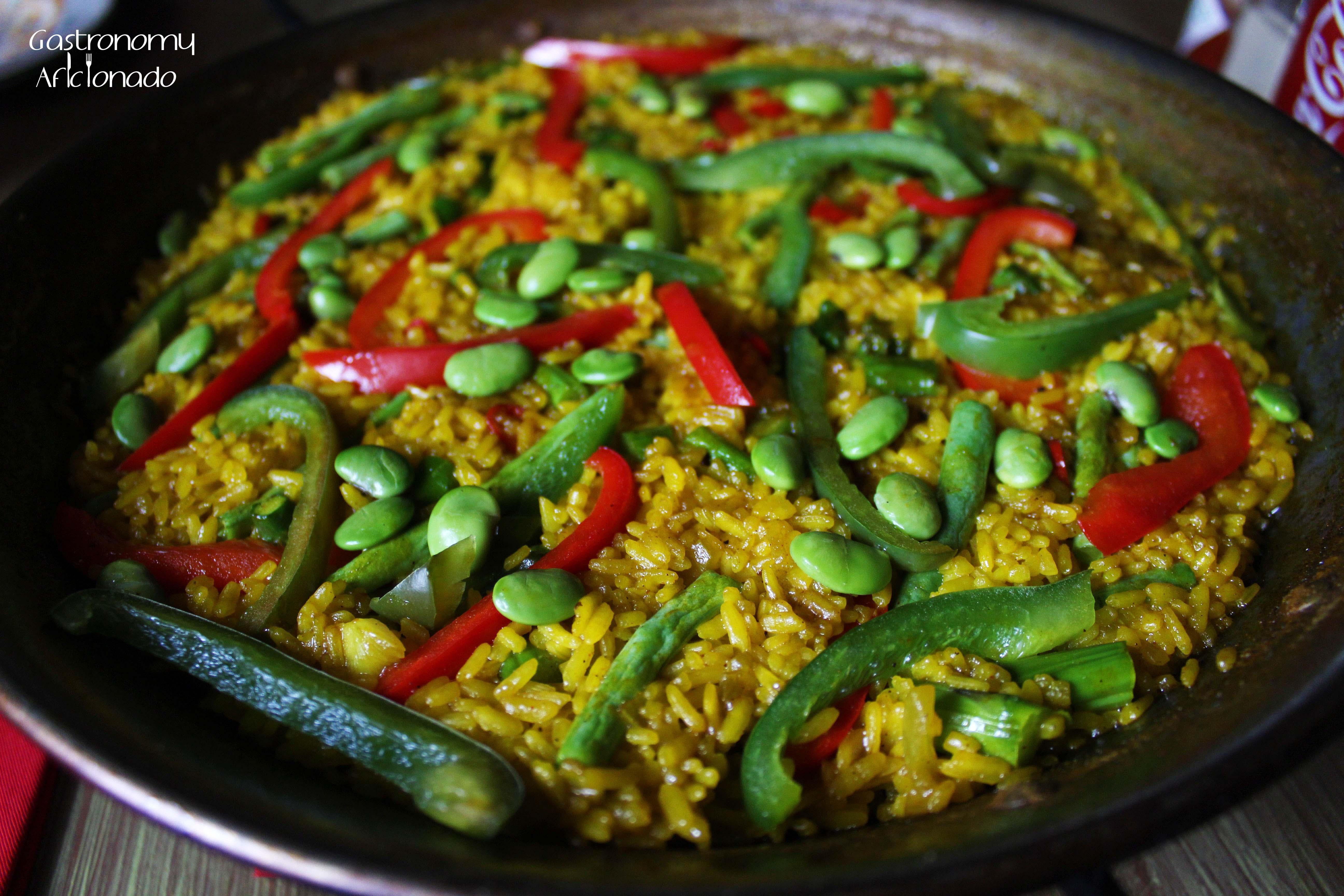 tapas movida � paella vegetariana the gastronomy aficionado