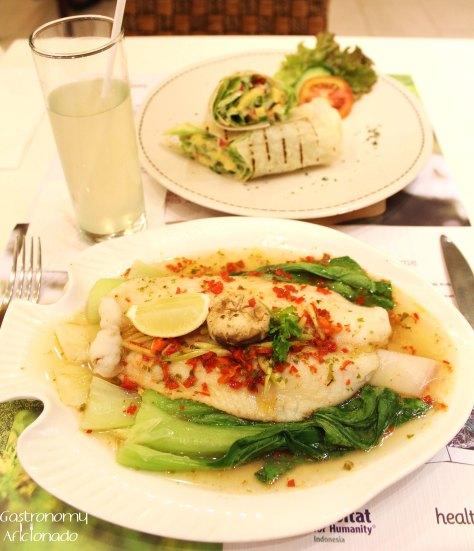 Steamed Fish ala Thai