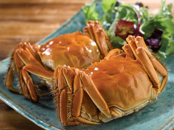 Shang Palace - Hairy Crabs