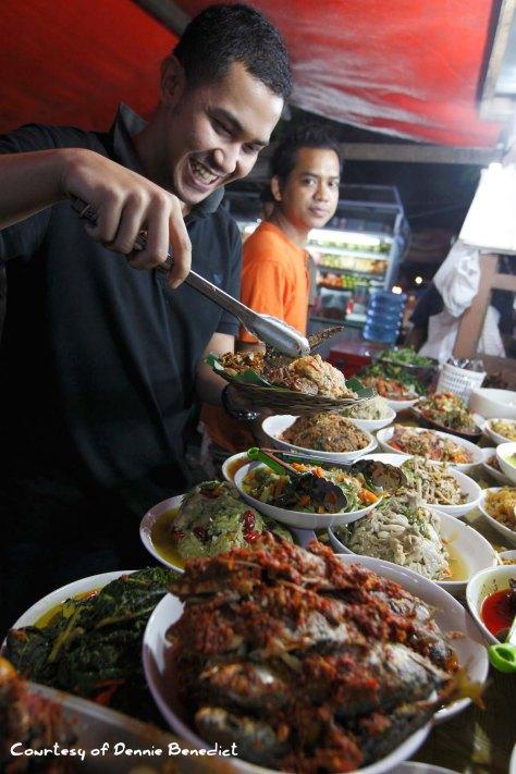 Chef Odie at Warung Mbak Heni