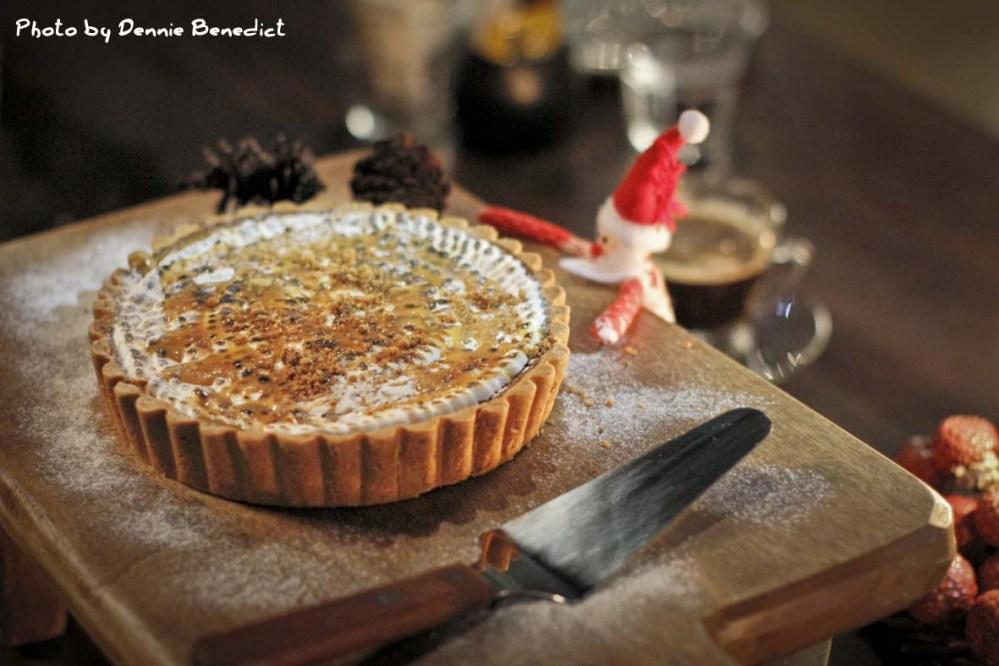 Flavor Updates: Chef Maya's Toasted Marshmallow Pumpkin Pie (Otel Lobby, Jakarta)