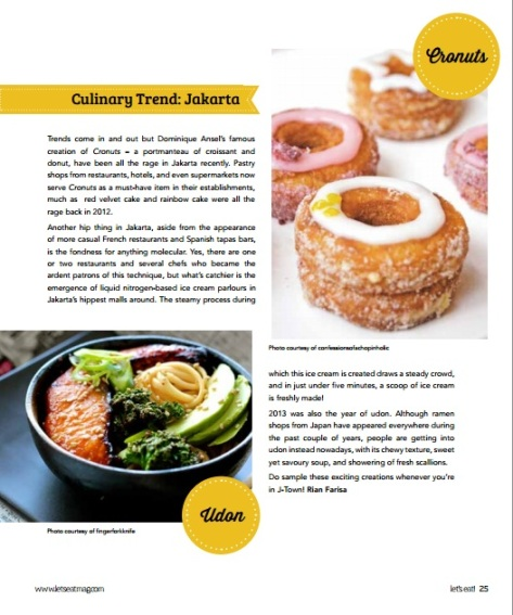 Let's Eat Magazine - Culinary Trends from Jakarta