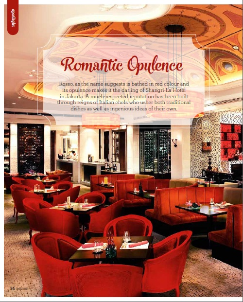Romantic Opulence Let S Eat Magazine Feb 2014 The Gastronomy Aficionado