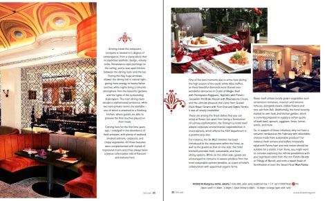 Let's Eat Magazine - Romantic Opulence 2