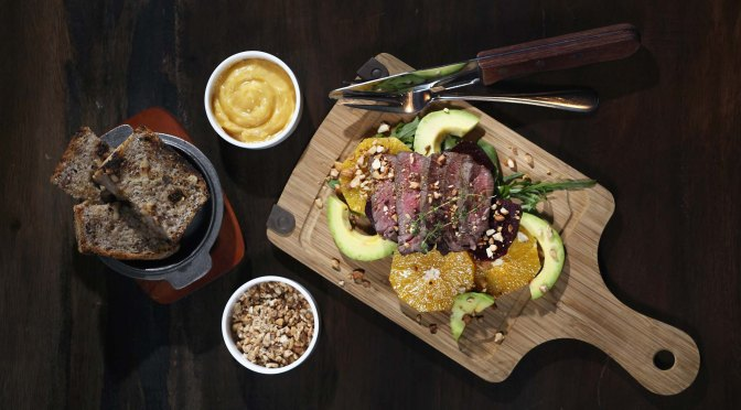 Maya's Musing: An Energy-Packed Steak Salad (The Foodie Magazine, Mar 2014)